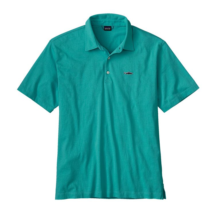 M'S POLO - TROUT FITZ ROY, Howling Turquoise (HWLT)