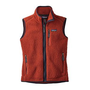 W's Retro Pile Vest, Roots Red (RTSR)