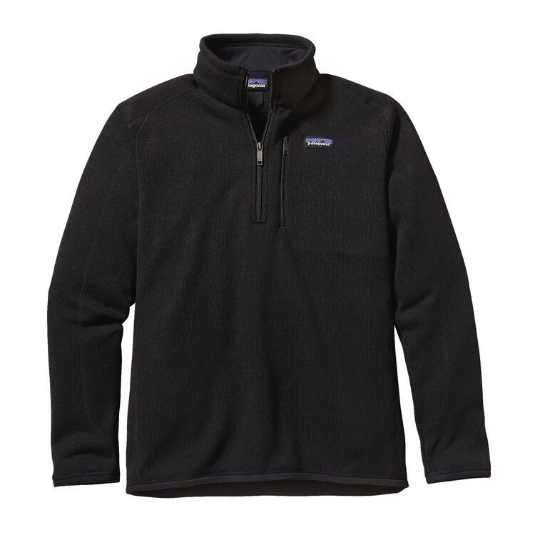 M'S BETTER SWEATER 1/4 ZIP, Black (BLK)