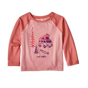 Baby Capilene® Silkweight Crew, Feather Pink (FEAP)