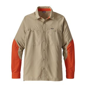 M's Lightweight Field Shirt, El Cap Khaki w/Campfire Orange (EKCA)