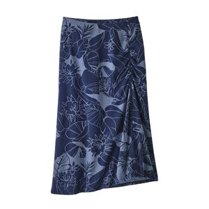 W's Dream Song Skirt, Valley Flora: Classic Navy (VFCN)