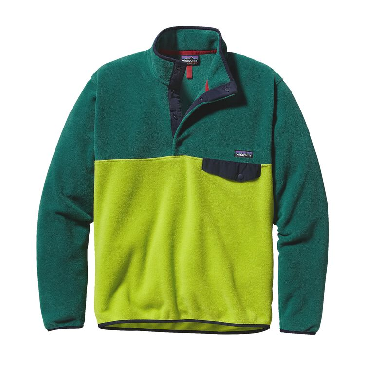 M'S LW SYNCH SNAP-T P/O, Peppergrass Green (PSS)
