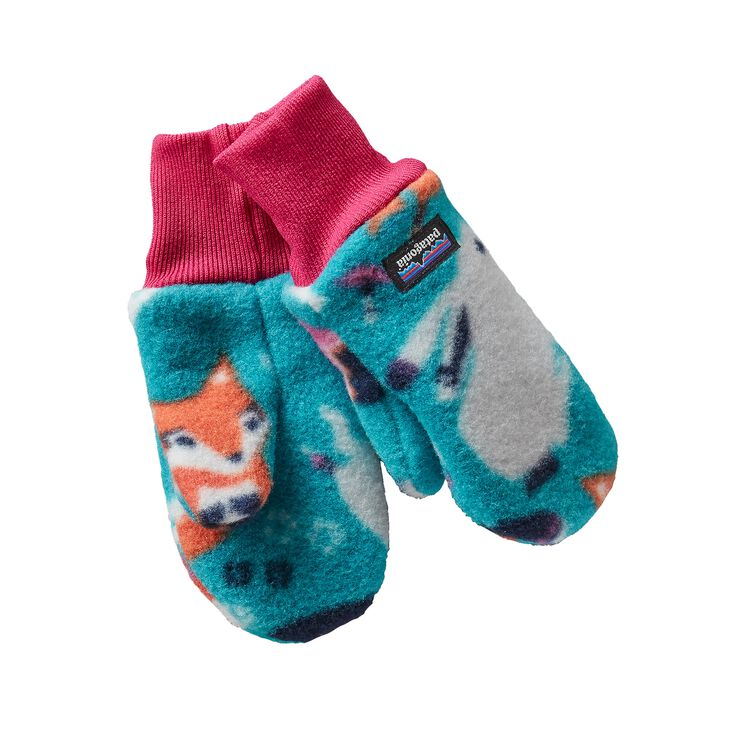 BABY PITA POCKET MITTENS, Festival Fox: Epic Blue (FFEB)