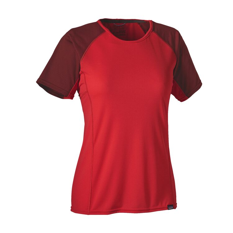 W'S CAP LW T-SHIRT, French Red (FRR)