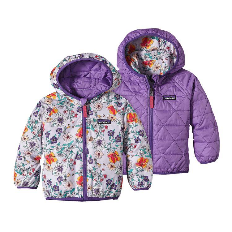 ベビー・リバーシブル・パフボール・ジャケット, Native Bloom: Tundra Purple (NVTP)