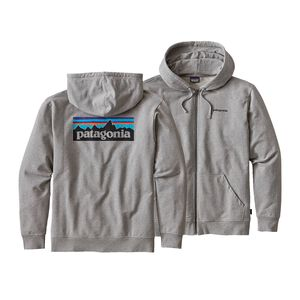 M'S P-6 LOGO MW FULL-ZIP HOODY, Feather Grey (FEA)