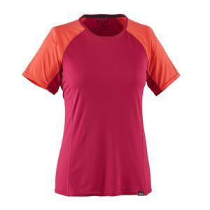 ウィメンズ・キャプリーン・ライトウェイト・Tシャツ, Craft Pink (CFTP)