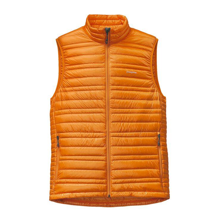 M'S ULTRALIGHT DOWN VEST, Sporty Orange (SPTO)