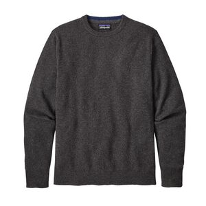 M'S RECYCLED CASHMERE CREWNECK SWEATER, Forge Grey (FGE)