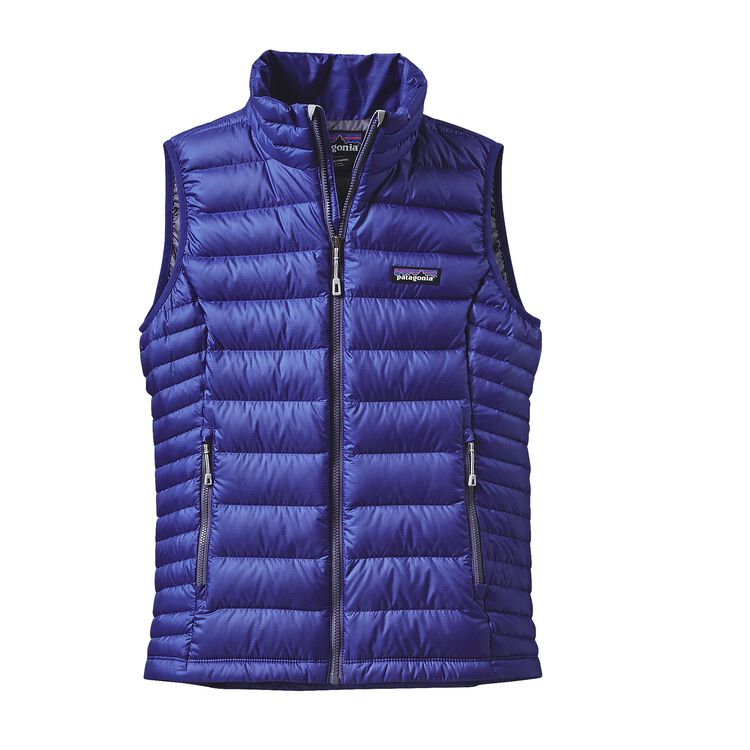 W'S DOWN SWEATER VEST, Harvest Moon Blue (HMB)