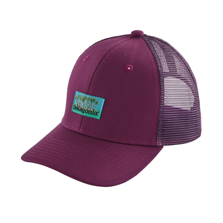 K'S TRUCKER HAT, Palms Spot Label: Geode Purple (PAGP)