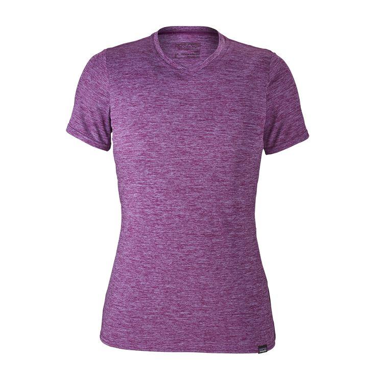 W'S CAP DAILY T-SHIRT, Light Acai - Ikat Purple X-Dye (LAIX)