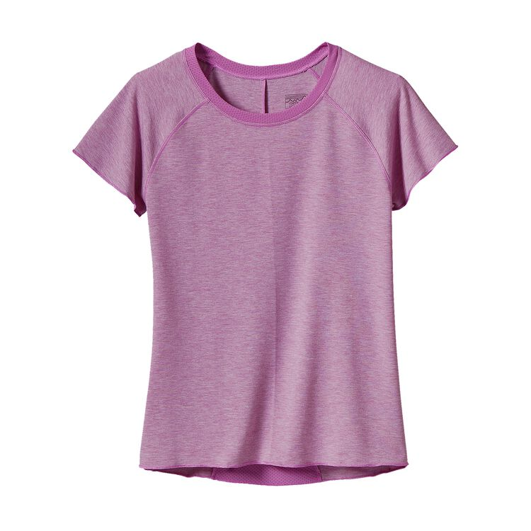 GIRLS' FLEURY TEE, Mock Purple (MCKP)