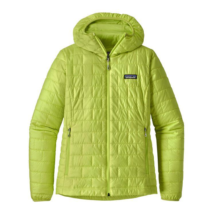 W's Nano Puff® Hoody, Celery Green (CELG)