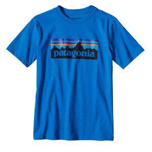 ボーイズ・P-6 ロゴ・コットン/ポリ・Tシャツ, Andes Blue (ANDB)
