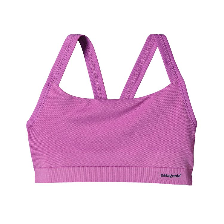 W'S ACTIVE MESH BRA, Mock Purple (MCKP)