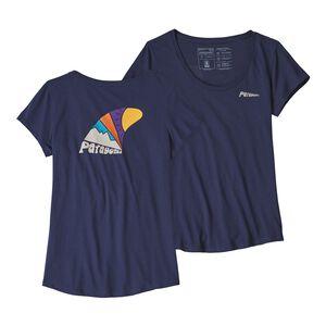 ウィメンズ・スケッグ・セット・オーガニック・スクープ・Tシャツ, Classic Navy (CNY)