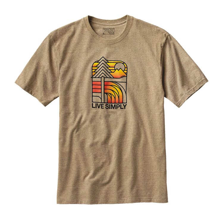 M'S LIVE SIMPLY LANDSCAPE REC. COTTON/PO, Woodland Tan (WOT)