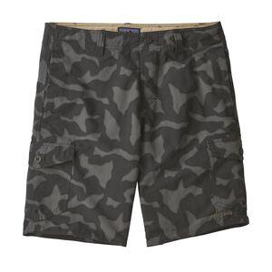 """M's Wavefarer® Cargo Shorts - 20"""", Aerial Camo: Black (AECB)"""
