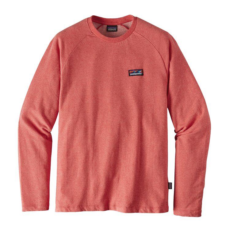 メンズ・ボード・ショーツ・ラベル・ライトウェイト・クルー・スウェットシャツ, Spiced Coral (SPCL)