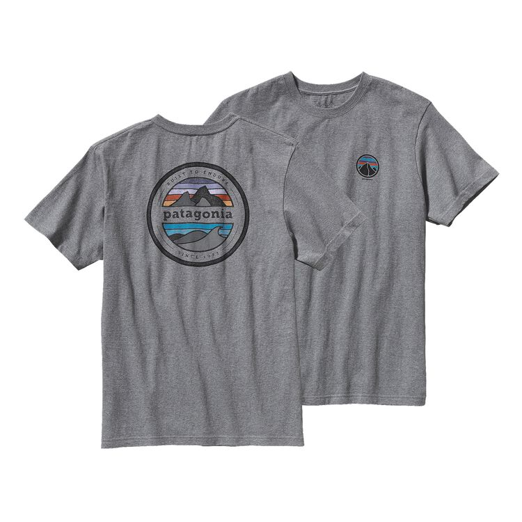 M'S RIVET LOGO COTTON T-SHIRT, Gravel Heather (GLH)