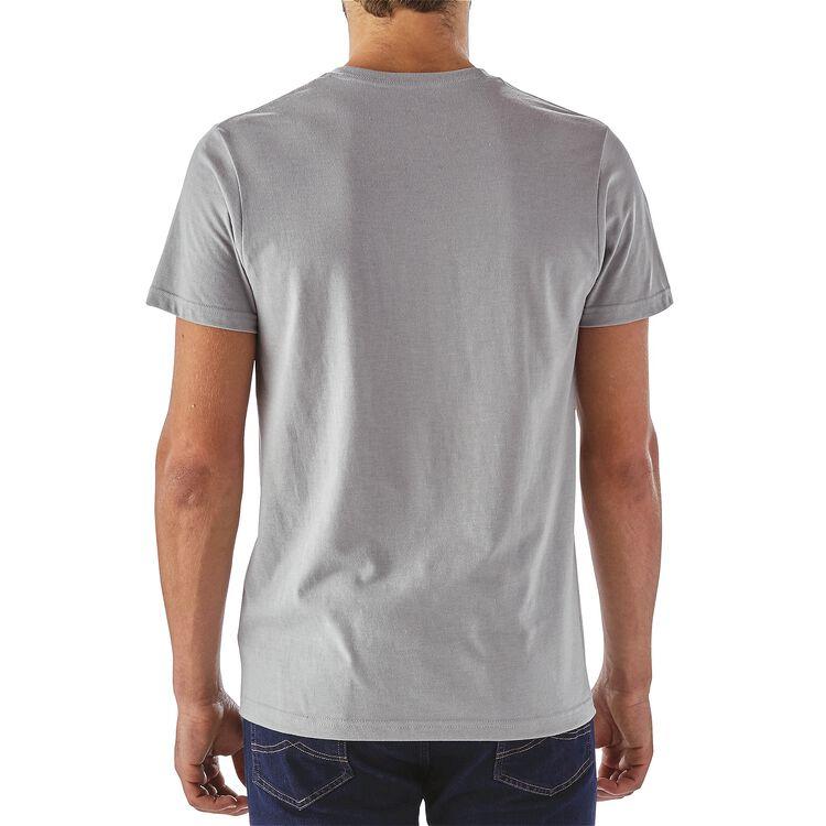 メンズ・ホライゾン・ラインアップ・コットン/ポリ・ポケット・Tシャツ,