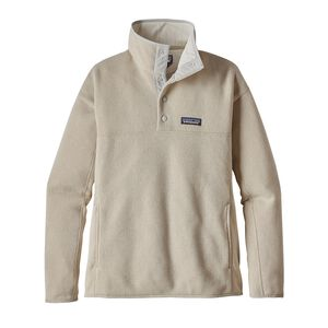 W's Lightweight Better Sweater™ Marsupial Fleece Pullover, Bleached Stone (BLST)