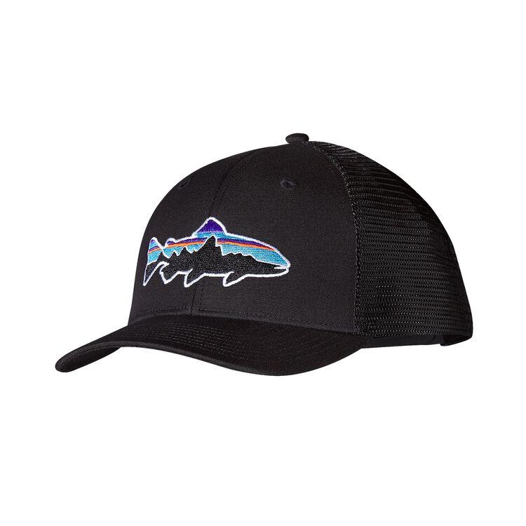 FITZ ROY TROUT TRUCKER HAT, Black (BLK)