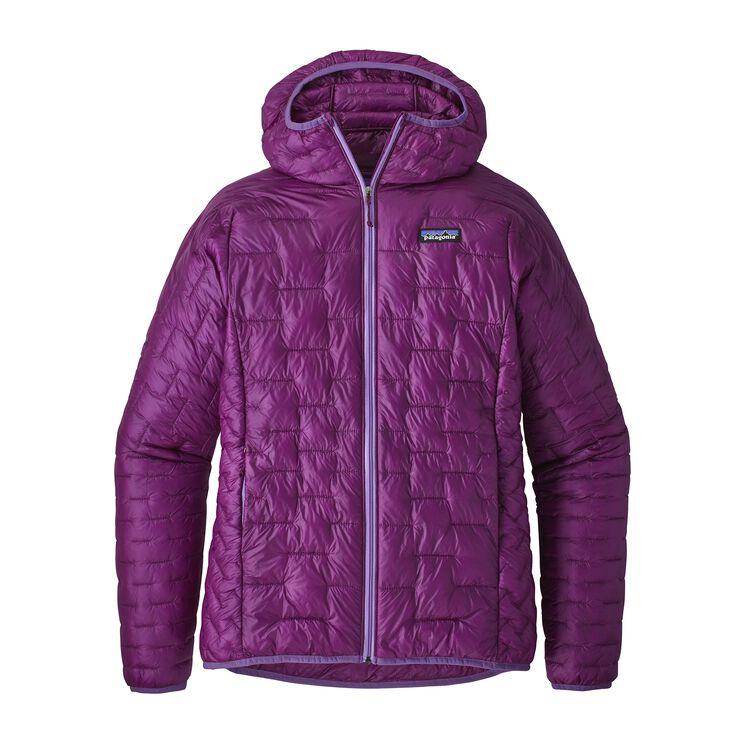 W'S MICRO PUFF HOODY, Ikat Purple (IKP)
