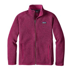 Girls' Better Sweater™ Jacket, Magenta (MAG)