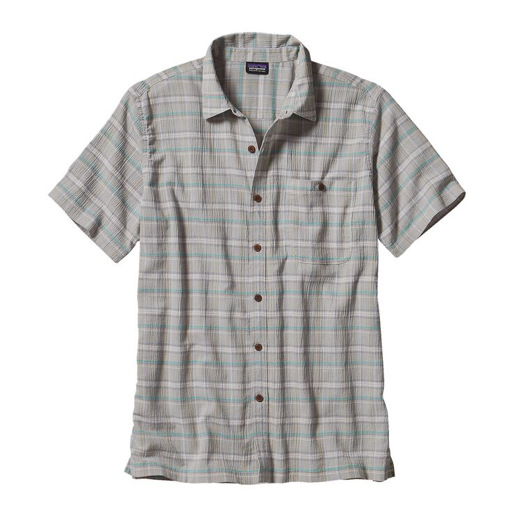 M'S A/C SHIRT, Traveller: Tailored Grey (TVTG)