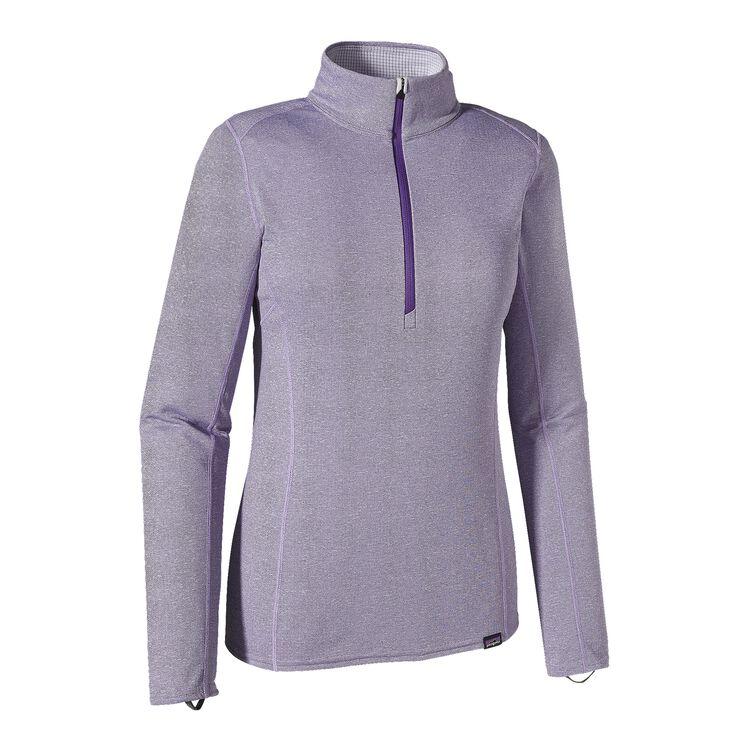 ウィメンズ・キャプリーン・ミッドウェイト・ジップネック, Concord Purple - Tundra Purple X-Dye (CDTX)