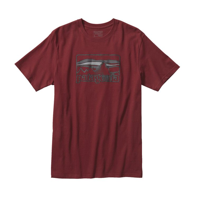 M'S SPRUCED '73 LOGO COTTON T-SHIRT, Drumfire Red (DRMF)