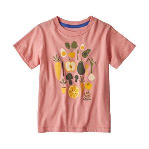 ベビー・グラフィック・オーガニック・Tシャツ, Peak Pink (PKPK)
