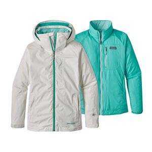 W's 3-in-1 Snowbelle Jacket, Birch White (BCW)