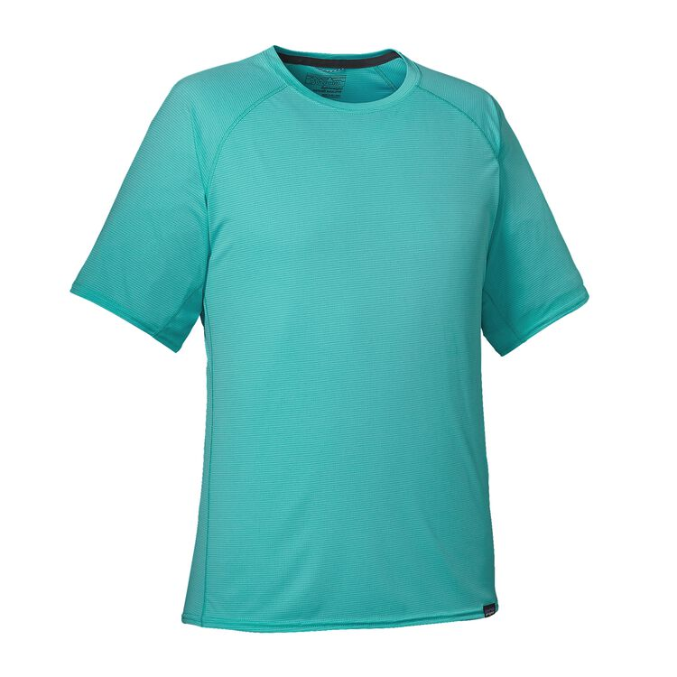 M'S CAP LW T-SHIRT, Howling Turquoise (HWLT)
