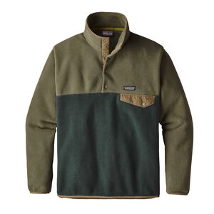 M's Lightweight Synchilla® Snap-T® Pullover - European Fit, Industrial Green (INDG)