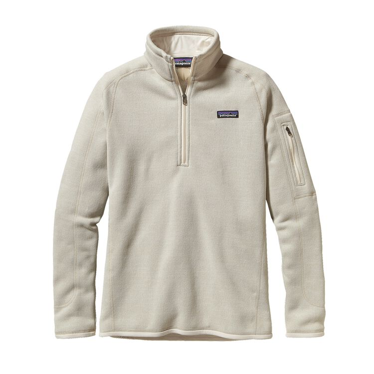 W'S BETTER SWEATER 1/4 ZIP, Raw Linen (RWL)