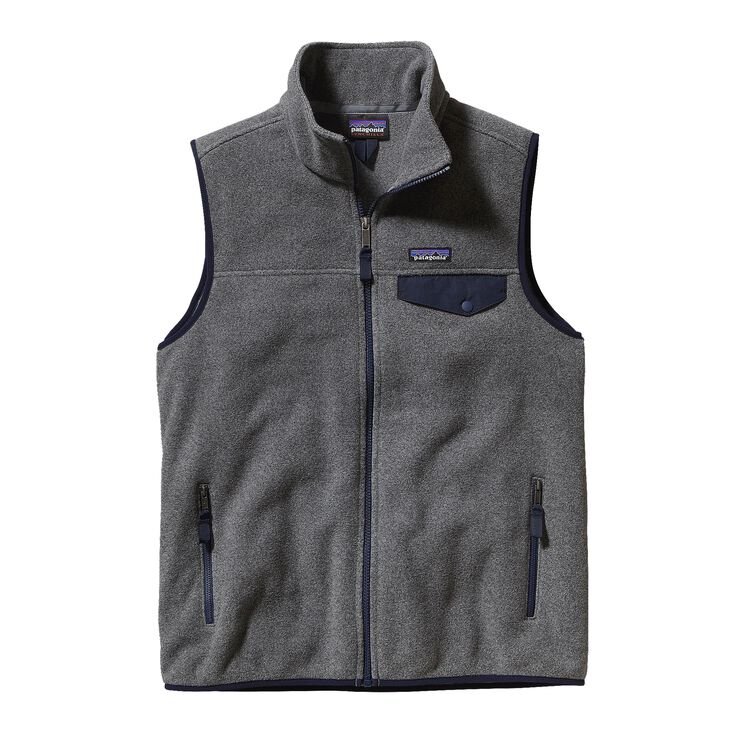M'S LW SYNCH SNAP-T VEST, Nickel w/Navy Blue (NKNV)