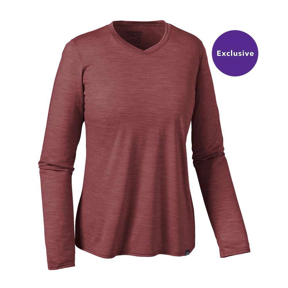 Patagonia Long-Sleeved Merino Daily V-Neck T-Shirt