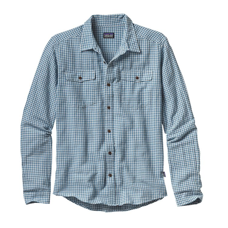 M'S L/S STEERSMAN SHIRT, Cholla: Catalyst Blue (CLCT)
