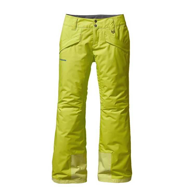 W'S INSULATED SNOWBELLE PANTS - REG, Chartreuse (CHRT)