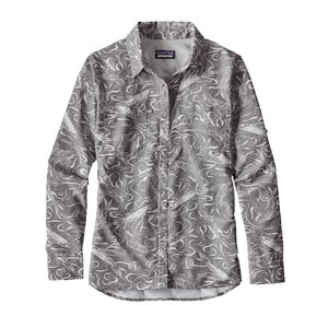 W's Long-Sleeved Sol Patrol® Shirt, Fish Splash: Tailored Grey (FSTG)