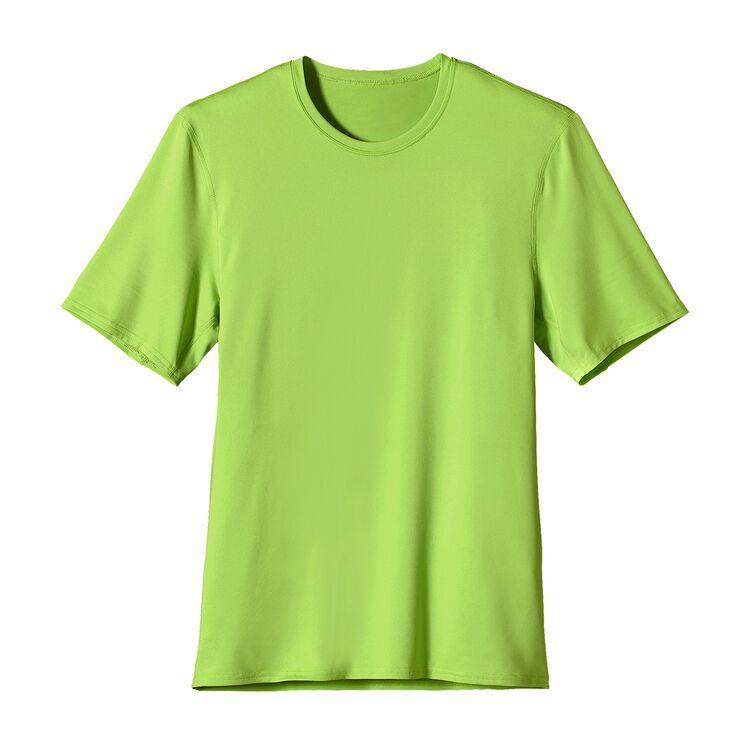 M'S CAP TEAM T-SHIRT, Lime Green (LMGN)