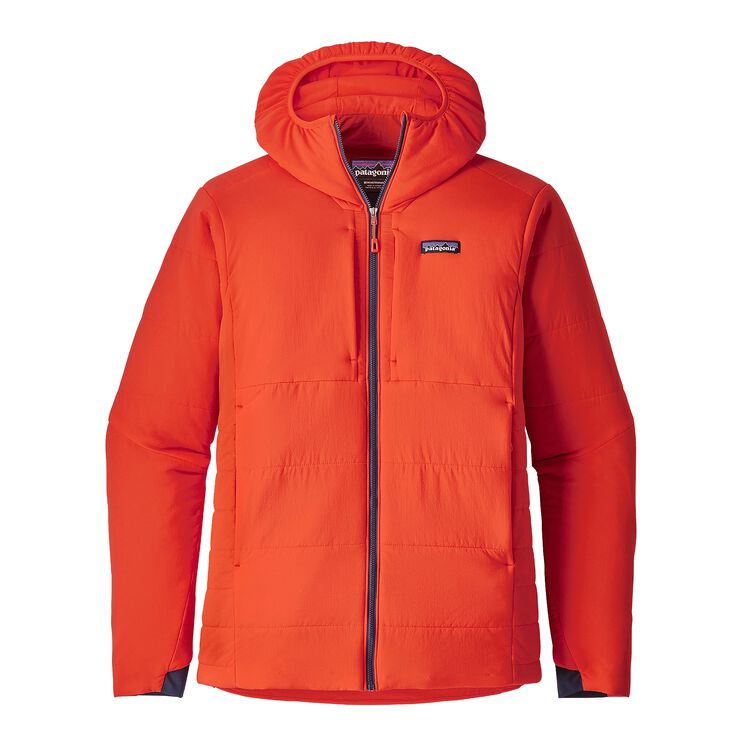 M'S NANO-AIR HOODY, Paintbrush Red (PBH)