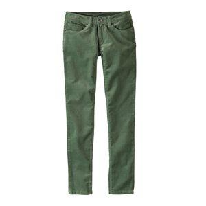 W's Fitted Corduroy Pants, Buffalo Green (BUFG)