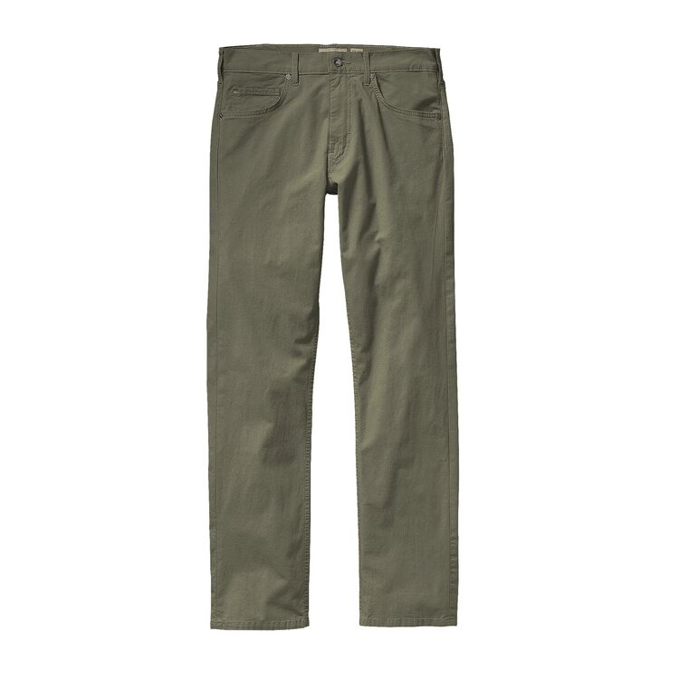 M'S STRAIGHT FIT ALL-WEAR JEANS - SHORT, Industrial Green (INDG)
