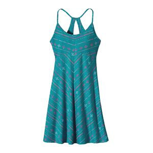 W'S SPRIGHT DRESS, Blazing Stripe: Tobago Blue (BZTB-235)