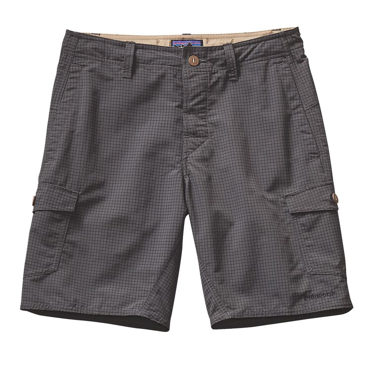 M'S WAVEFARER CARGO SHORTS - 20 IN., Grid Man: Forge Grey (GMFG)